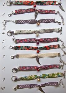 Bracelets, collection automne/hiver dans Artisanat Bracelets-213x300